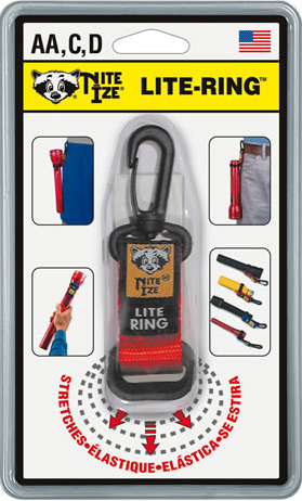 Nite Ize Lite Ring - Flashlight Carrier NIR-07