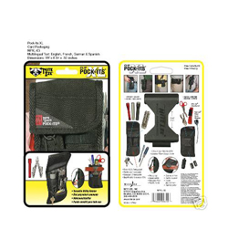 Nite Ize Tool Belt Pouch Utility Holster Clip Pock-Its XL Kit - NPXL-03