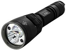Nitecore Chameleon CG6 Green LED Flashlight - CREE XP-G2 R5 & CREE XP-E G2 - 440 Lumens - Uses 2 x CR123As or 1 x 18650
