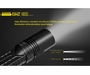 Nitecore EA42 Explorer Flashlight - CREE XHP35 HD LED - 1800 Lumens - Uses 4 x NiMh or Alkaline AA