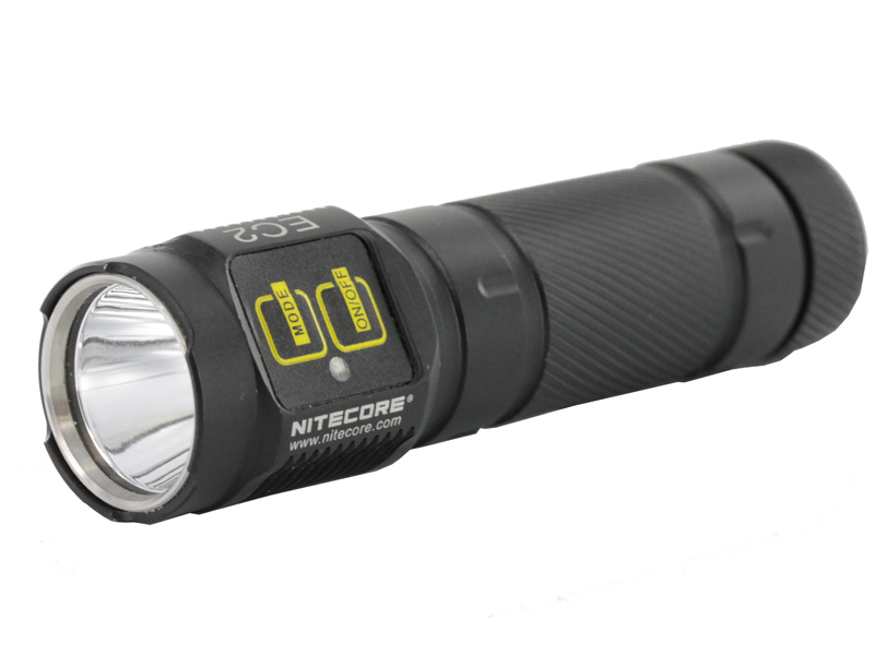 Nitecore EC2 Flashlight Explorer Series 320 Lumens Uses 2 x CR123 Batteries (Not Included)
