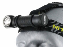 Nitecore HC30 Dual-Form Headlamp - CREE XM-L2 (U2) LED - Cool or Neutral White - 1000 Lumens - Uses 1 x 18650 or 2 x CR123As
