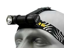 Nitecore HC33 High Performance LED Headlamp - CREE XHP35 - 1800 Lumens - Uses 1 x 18650 or 2 x CR123As - Now Available with a Battery and a Charger