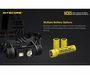 NITECORE HC65 multiple battery options
