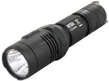 Nitecore MT10A Tactical Flashlight With Orange Peel Reflector