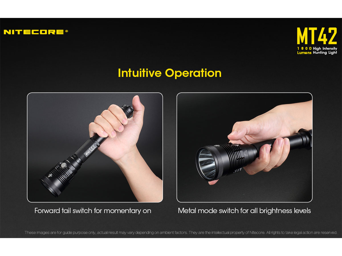 Nitecore MT42 - How to Operate