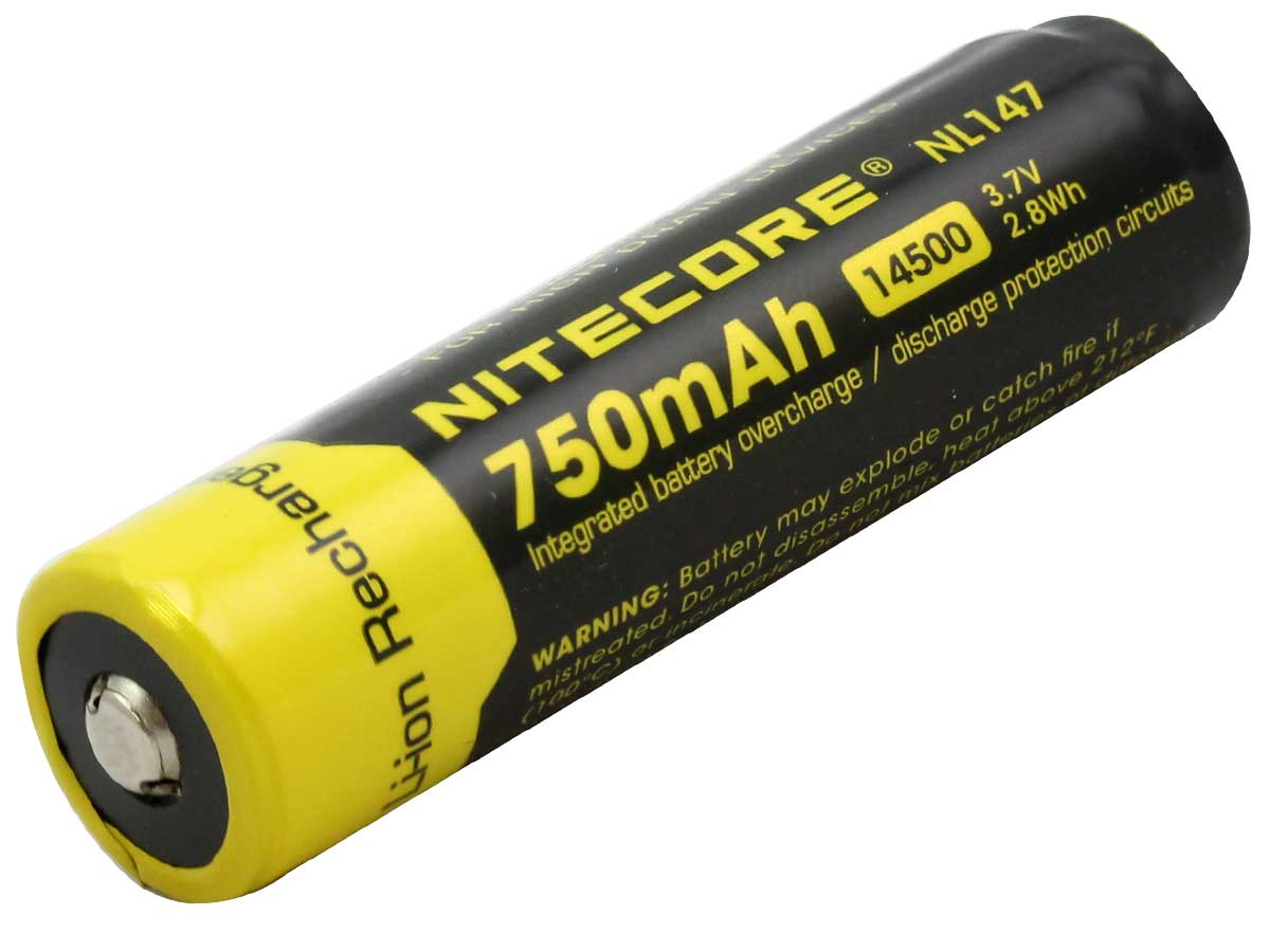 Bulk packaging for Nitecore-NL147 battery