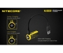Nitecore NL1665R 16340 650mAh 3.6V Protected Lithium Ion (Li-ion) Button Top Battery with a Built In Micro-USB Charging Port