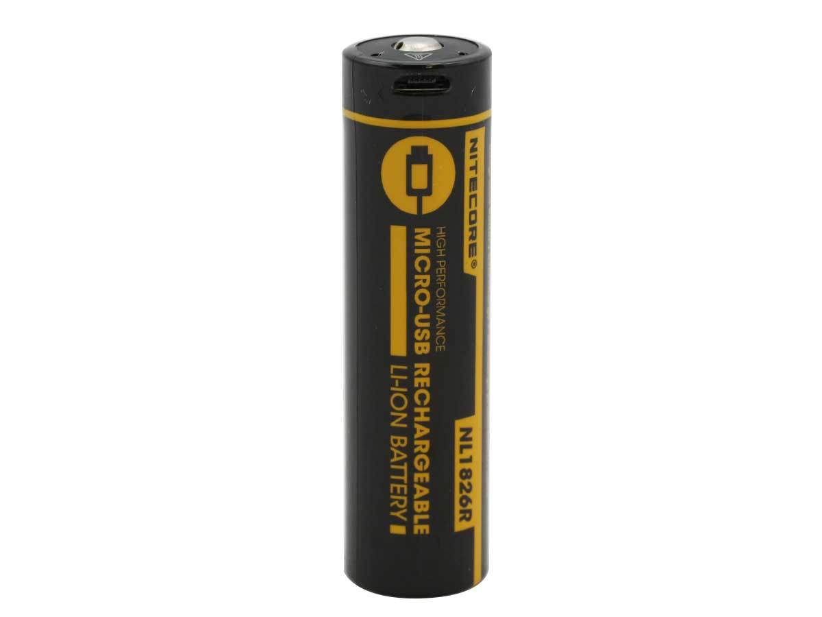 Nitecore NL1826R 18650 Battery