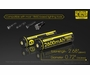 Nitecore NL1826R 18650 2600mAh 3.6V Protected Lithium Ion (Li-ion) Button Top Battery with Built In Micro-USB Charging Port