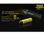 Nitecore NL1835HP High Performance 18650 3500mAh 3.6V 8A Protected Lithium Ion (Li-ion) Button Top Battery