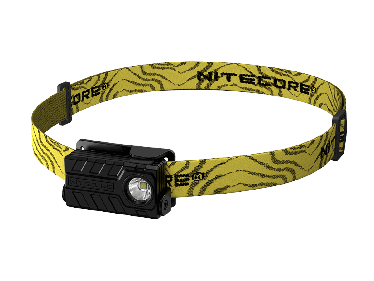 Nitecore NU20 CRI USB Rechargeable Headlamp - Nichia 291B LED - 270 Lumens - Includes Li-ion Battery Pack - Black