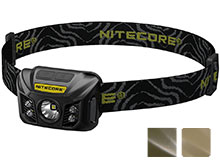 Nitecore NU30 USB Rechargeable Headlamp - CREE XP-G2 S3 LED - 400 Lumens - Built-In Li-Ion Battery Pack - Available in Black, Army Green, or Desert Tan