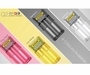 Charger comes in four colors - yellow, pink, black, and clear