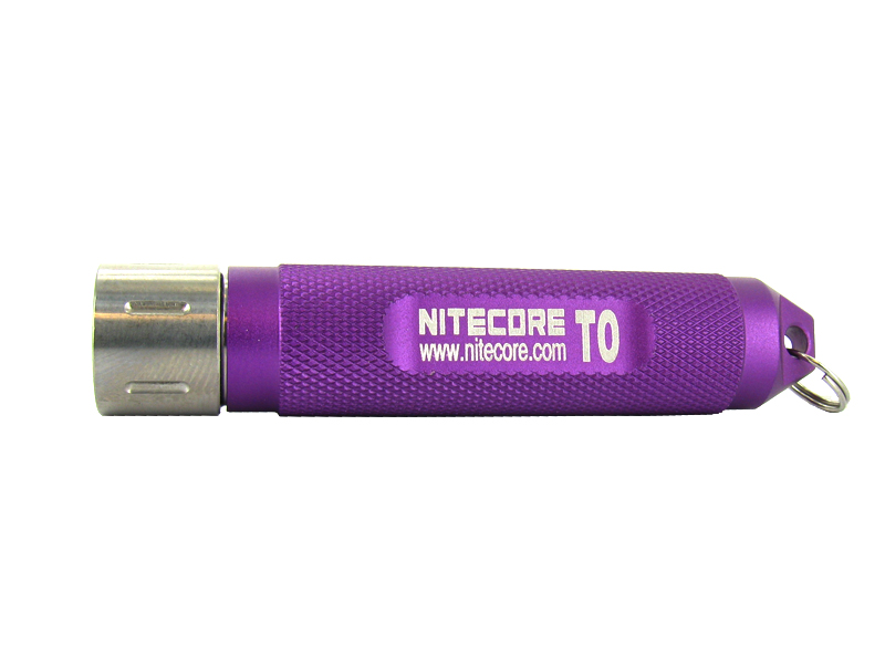 Nitecore T0 LED Keylight - Nichia LED - 12 Lumens  - Uses 1 x AAA - Purple
