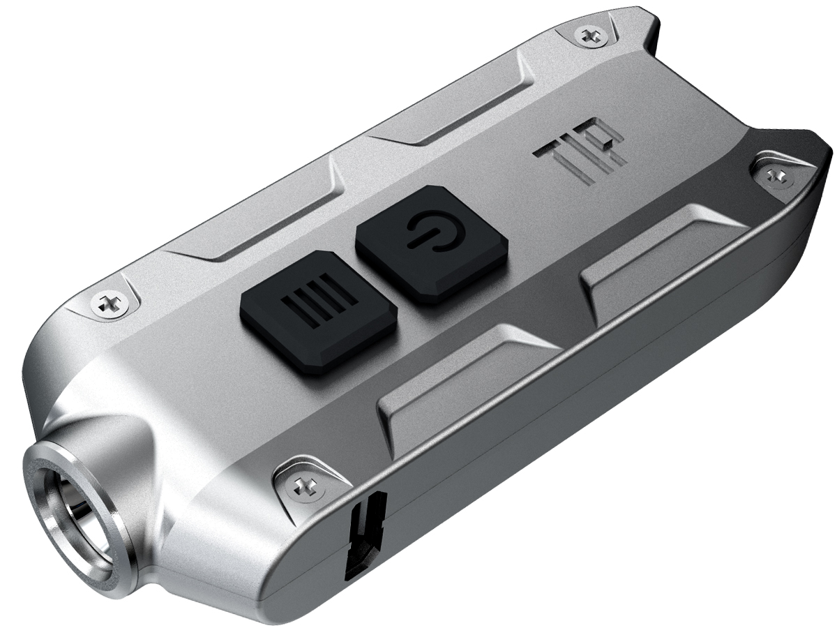 Nitecore TIP CRI USB Rechargeable Keylight - Nichia NVSL219B LED - 220 Lumens - Built-in Battery Pack - Many Colors Available