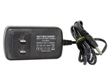 Nitecore AC Home Charger - Fits the TM26 LED Flashlight