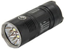 Nitecore Tiny Monster TM06 Flashlight - 4 x CREE XM-L2 U2 LEDs - 3800 Lumens - Uses 4 x 18650s