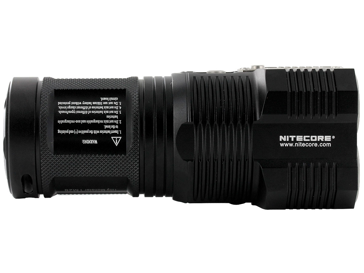 Nitecore Tiny Monster TM28 Flashlight - 4 x CREE XHP35 HI LEDs - 6000 Lumens - Uses 4 x 18650s