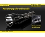 Nitecore Tiny Monster TM36 Rechargeable Flashlight - Luminus SBT-70 LED - 1800 Lumens - Includes Li-ion Battery Pack