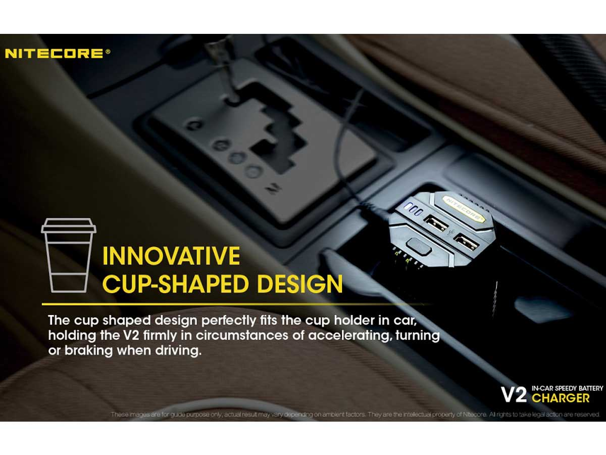 Cup shape allows for easy transportation in your car
