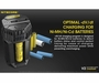 Nitecore V2 Smart Battery Car Charger for Li-Ion, IMR, Ni-MH and Ni-Cd Batteries - Includes DC Cable