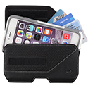 Nite Ize Clip Case Executive Leather Holster - Large, XL or XXL - Black
