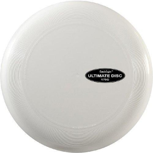Nite Ize Flashflight Ultimate Flying Disc - 10-inch Regulation Size (175g) - White (FUD-09-04)