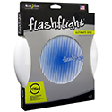 Nite Ize Flashflight Ultimate Flying Disc - 10-inch Regulation Size (175g) - White with Blue Foil Stamp (FUD02-08-03G1)