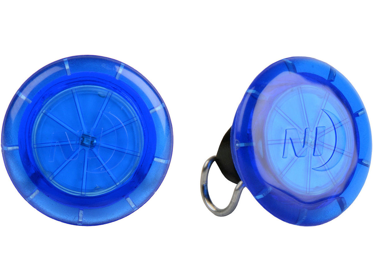 Nite Ize See'Em Mini LED Spoke Lights for Bicycle Wheels - Includes 2 x CR927 - 2 Pack - Available in Five Different Colors