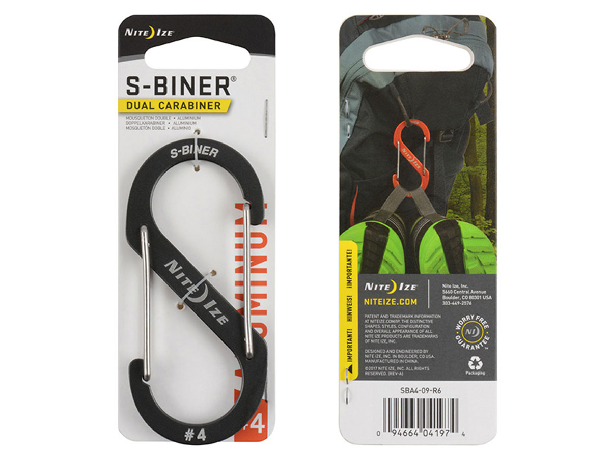 Charcoal S-Biner in retail card