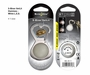 Nite Ize GetLit S-Biner Bottle Opener and Light - Includes 2 x CR2016s - Stainless (SBL-03-11)