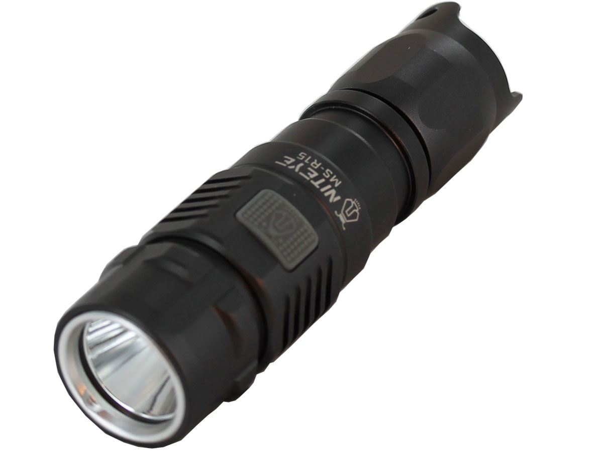Niteye MS-R15 Rechargeable Flashlight with CREE XP-L LED ...