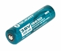 Olight ORB-186P34 18650 3400mAh 3.6V Protected Lithium Ion (Li-ion) Button Top Battery - Plastic Box or Retail Card