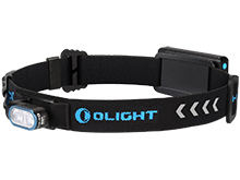 Olight HS2 Rechargeable LED Headlamp - 2 x CREE XP-G2 LED - 400 Lumens - Includes Lithium Polymer Battery Pack