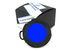 Olight Blue Filter - Fits the Olight M20, S35 and S65 LED Flashlights