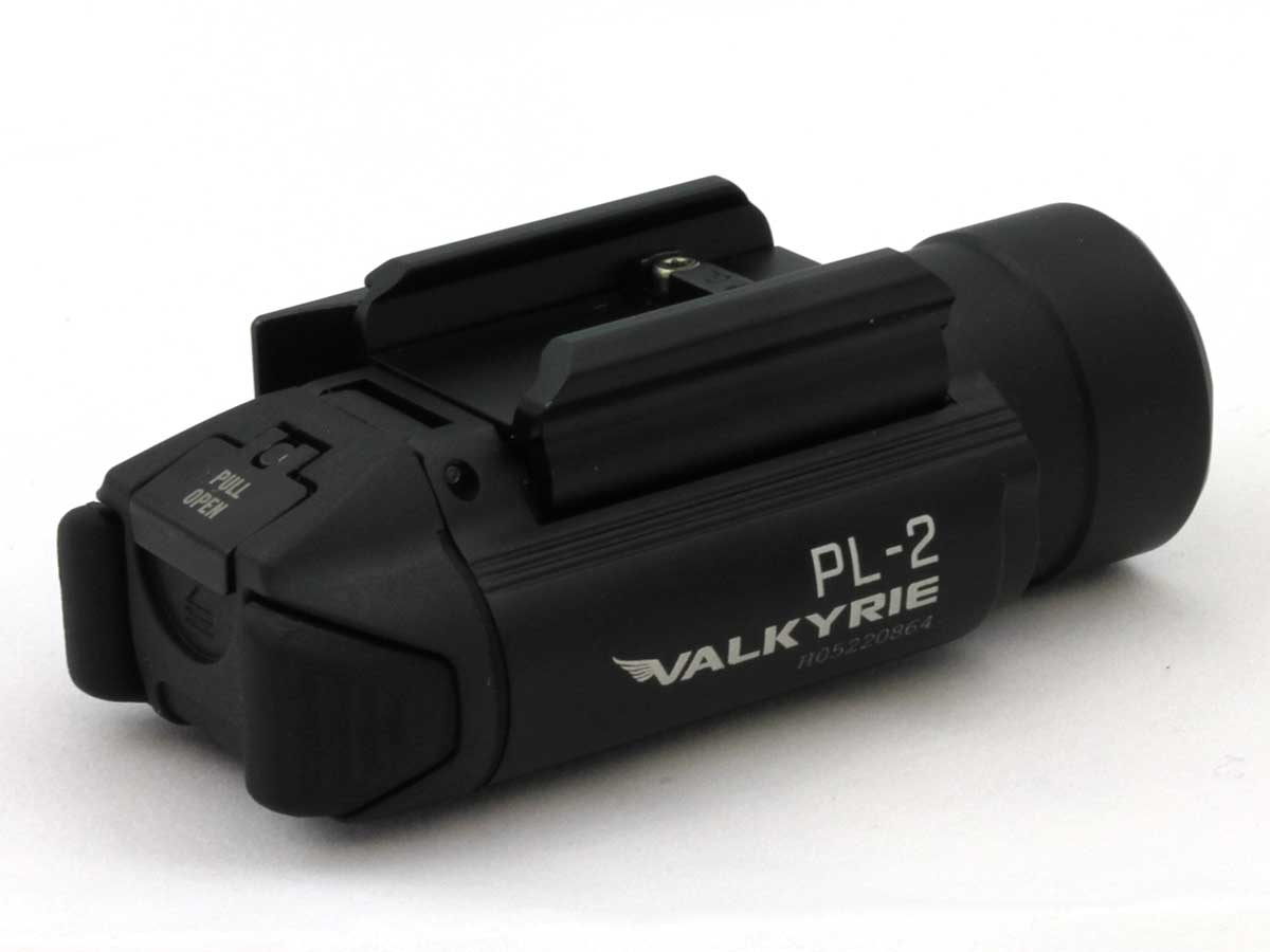 Olight PL-2 Valkyrie LED Pistol Light - Picatinny and Glock Rails - CREE XHP35 HI CW LED - 1200 Lumens - Includes 2 x CR123As