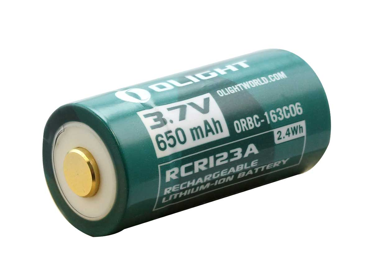 Button top rechargeable battery