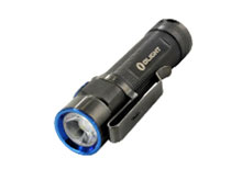 Olight S1A Baton (Limited Edition) Grey Stainless Steel Flashlight - CREE XM-L2 LED - 600 Lumens - Uses 1 x 14500 or 1 x AA (Included)