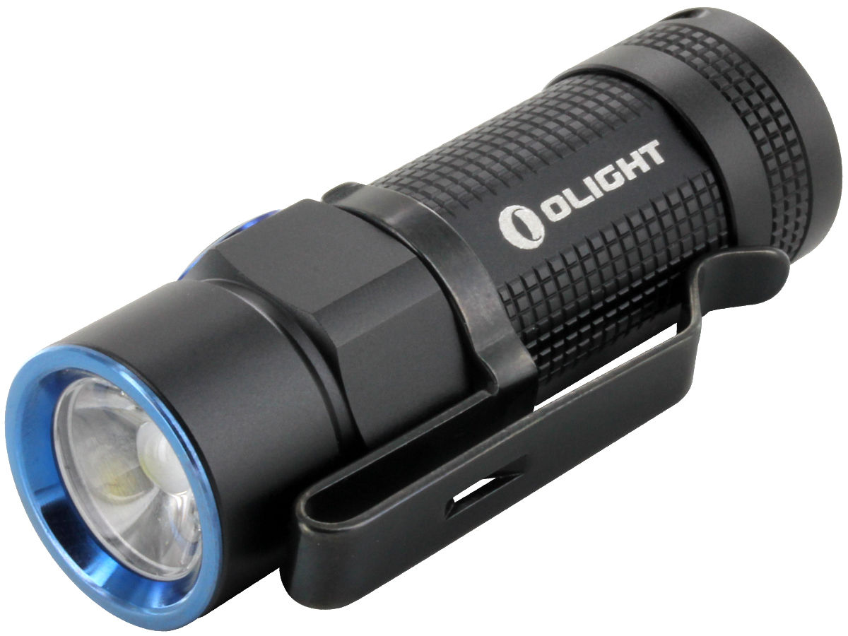 Olight S1R Turbo Baton Rechargeable LED Flashlight - CREE XM-L2 LED - 900 Lumens - 2nd Edition - Uses 1 x 16340 (Included) or 1 x CR123A