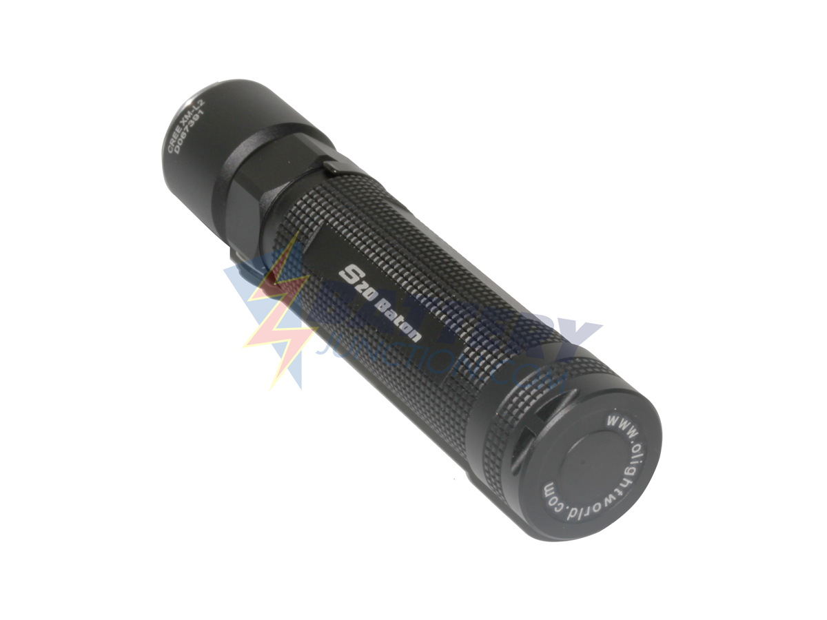 Olight S20 LED Flashlight 550 Lumens Cree XM-L2 LED Uses 2 x CR123