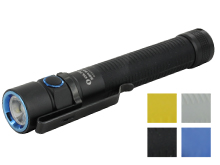 Olight S2A Baton EDC Flashlight - CREE XM-L2 LED - 550 Lumens - Includes 2 x AAs  - Black, Blue, Gray or Yellow