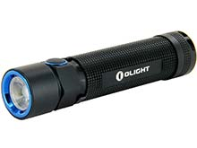 Olight S2R Rechargeable Flashlight - CREE XM-L2 LED - 1020 Lumens - Uses 1 x 18650 (included) or 2 x CR123As