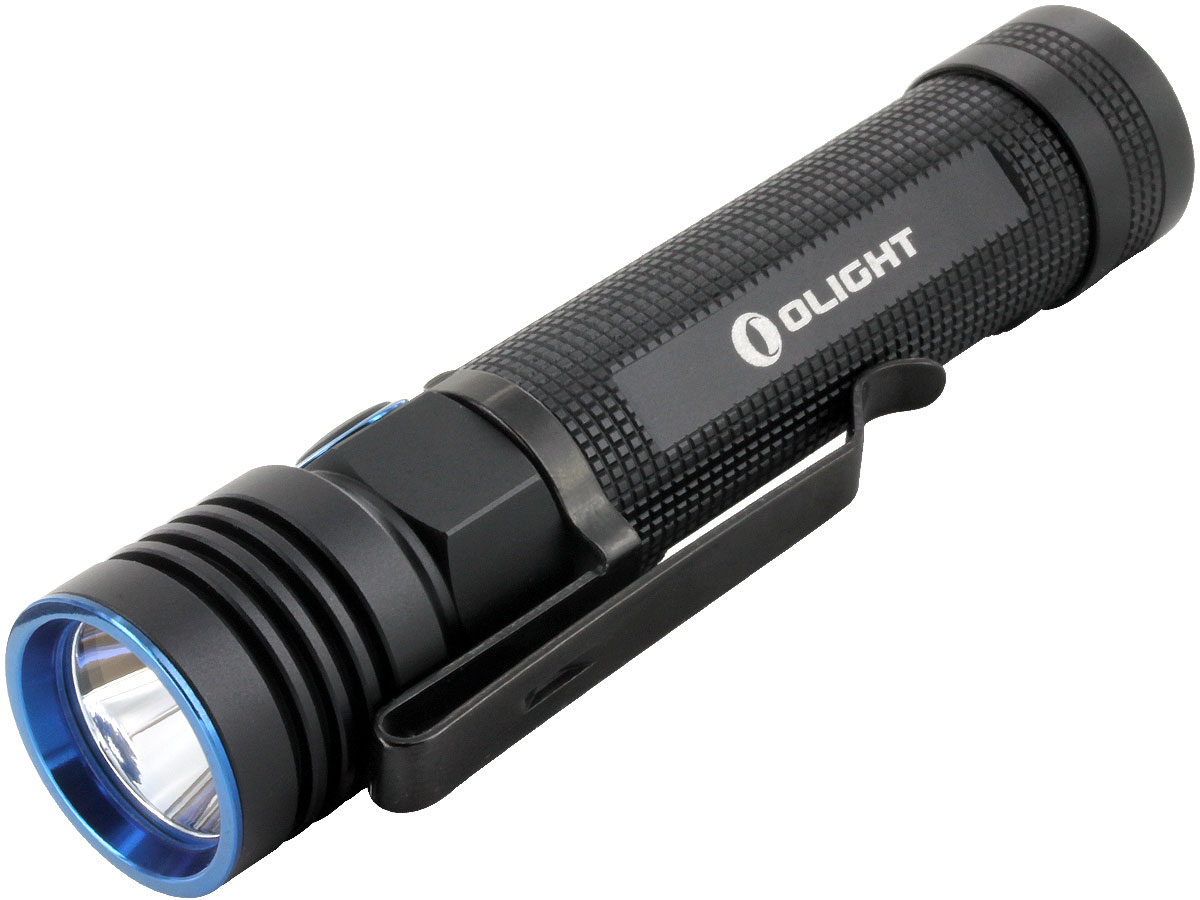 Olight S30R Baton III USB Rechargeable Flashlight - CREE XM-L2 LED - 1050 Lumens - Includes 1 x 18650