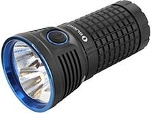Bundle: Olight X7 Marauder Search Light Kit - 3 x CREE XHP70 LEDs - 9000 Lumens - Includes Charger and 4 x Olight HDC 3500mAh 18650 Batteries
