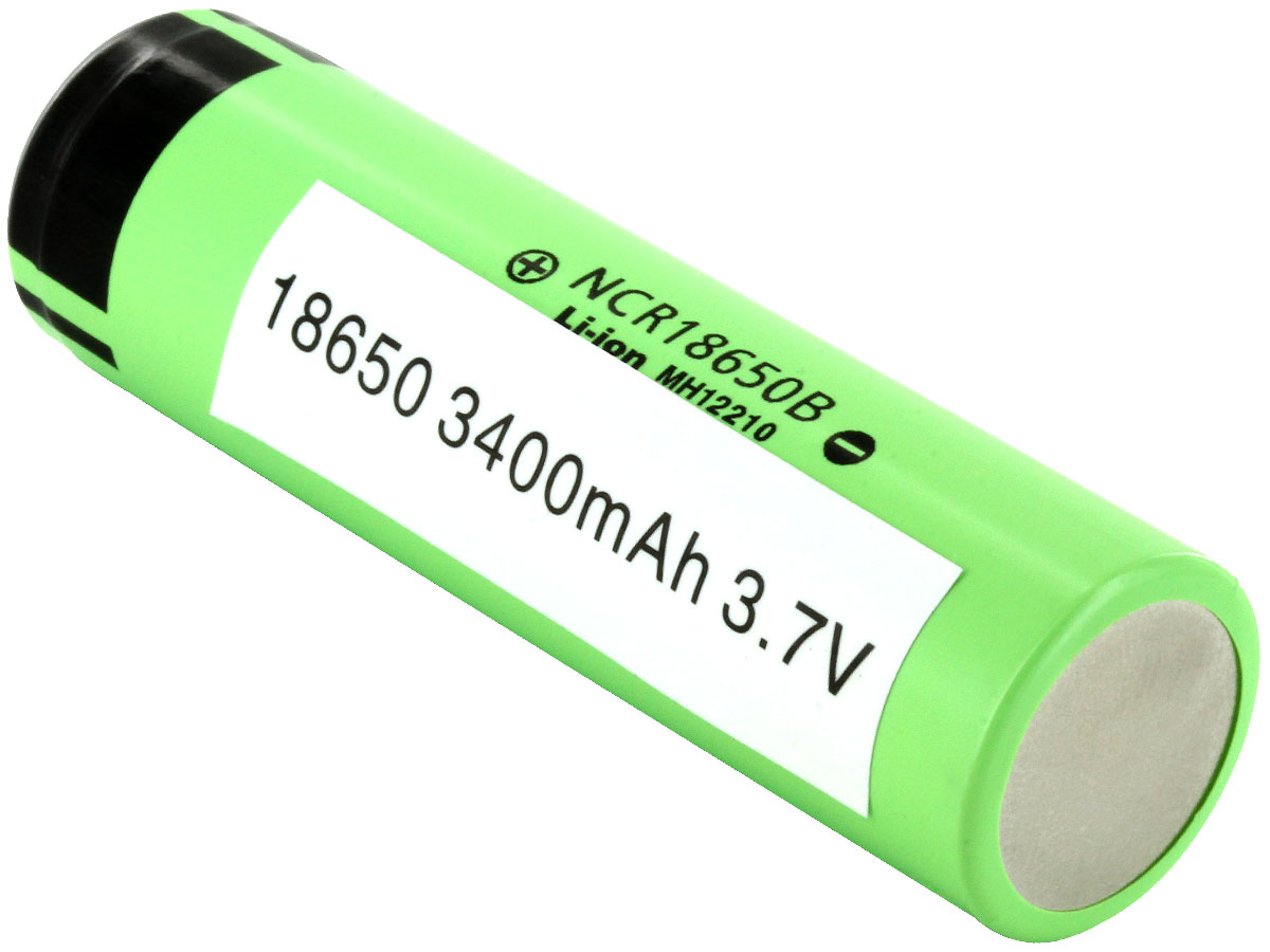 Panasonic Ncr 18650 3400mah 3 7v Unprotected High Drain 4