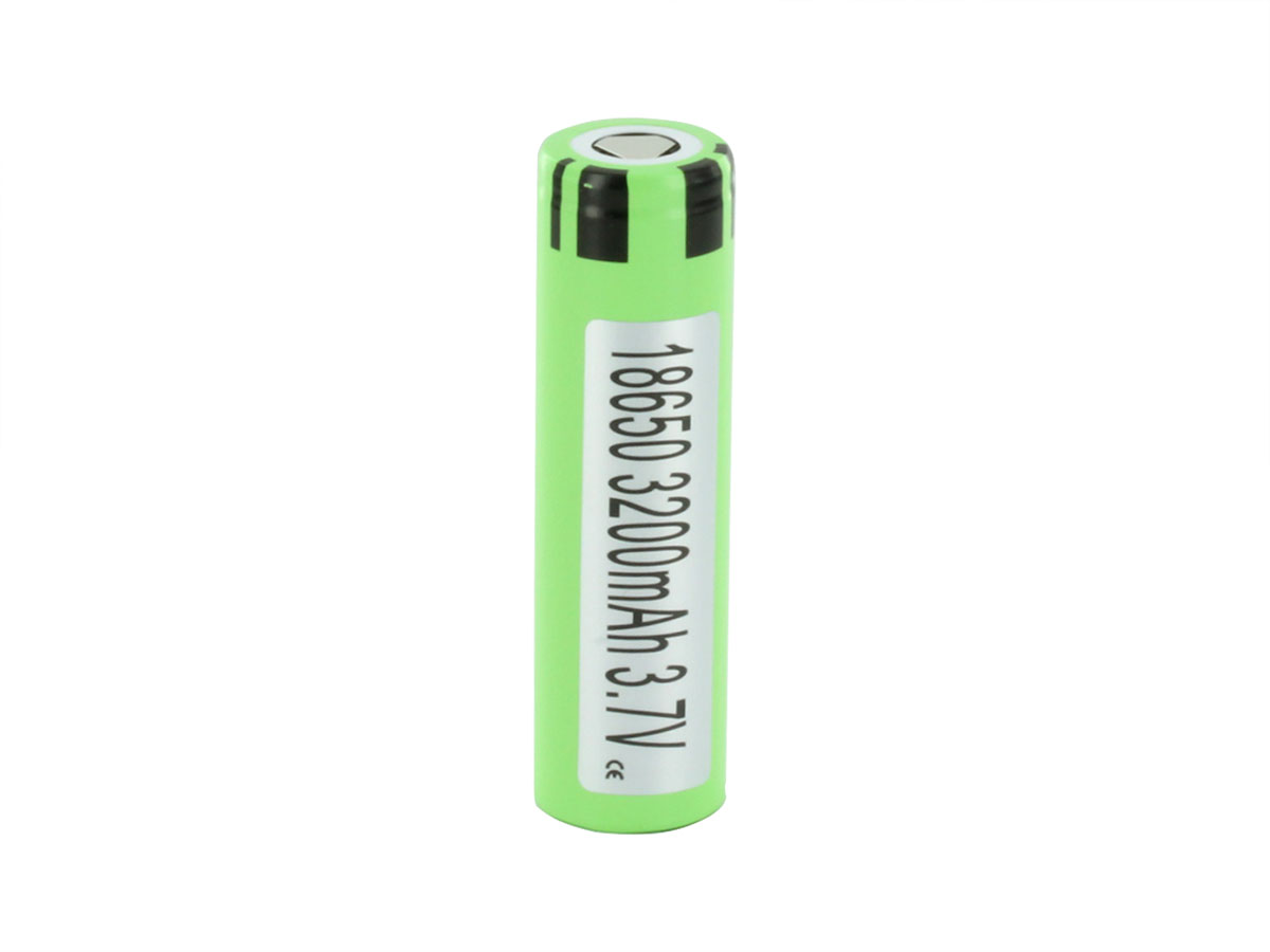 Panasonic NCR18650BE 3200mAh 3.7V Unprotected 3.63A Lithium Ion (Li-ion) Flat Top Battery - Boxed