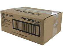 Duracell Procell PC1300 (72PK) D-cell 1.5V Alkaline Button Top Batteries - Case of 72