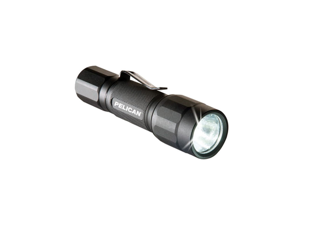 Pelican 2350 Tactical LED Flashlight - 178 Lumens - Includes 1 x AA - Black (023500-0000-110)