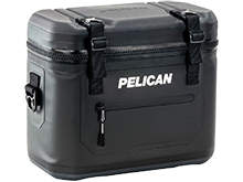 Angle Shot of the Pelican SC12 Cooler